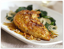 Pan Roasted Chicken Breasts