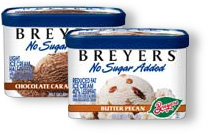 Breyers no-sugar-added